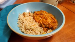 tuna creole, hold the tuna (adapted from tomato ketchup recipe collection)