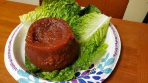 tomato barbecue jell-o salad (georgia, 1960s, adapted)