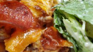 pizza casserole (ohio, 1995, adapted)