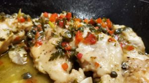 gelman's chicken amore (adapted from cooking with regis & kathie lee, 1994)