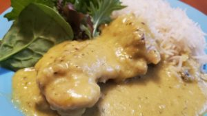 curried chicken with rice colombo (oklahoma, 1920s, adapted)