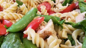 chicken pistachio pasta salad (california, 2006, adapted)